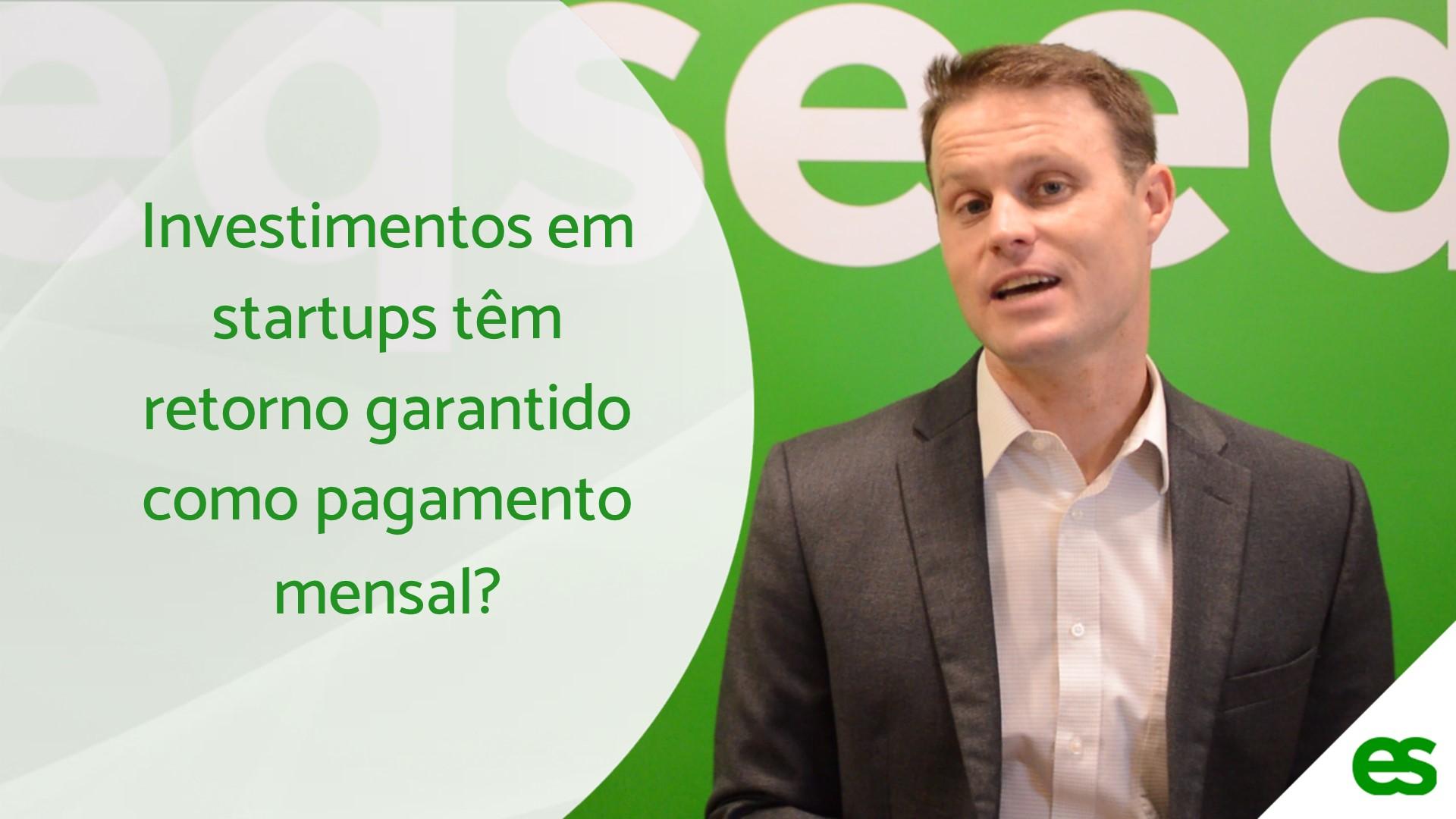Investimento de startup tem retorno garantido como pagamento mensal - SITE