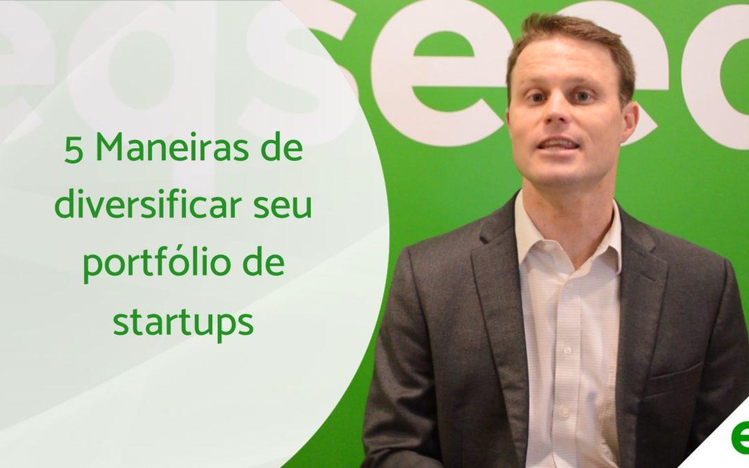 5 Maneiras de diversificar seu portfólio de startups
