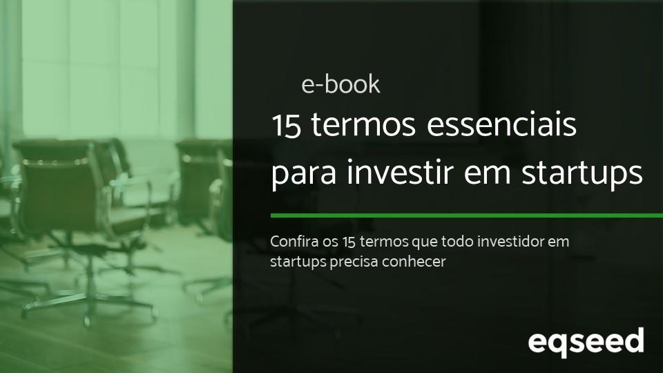 E-book | 15 termos para investir em startups