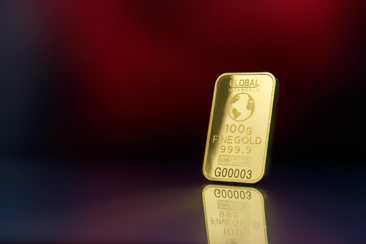 Capital de Risco - barra conceitual de ouro