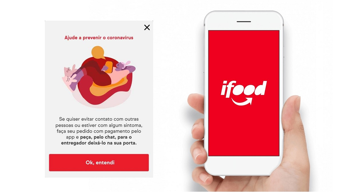 ifood durante a pandemia