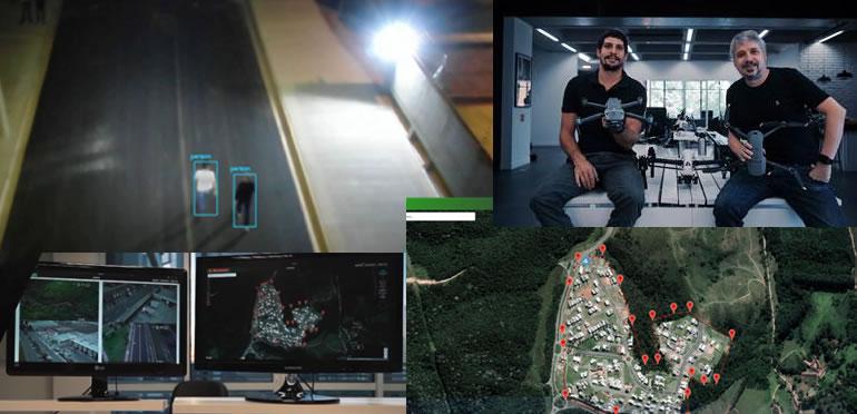 Aeroscan leva inovação ao mercado de segurança com monitoramento por drones