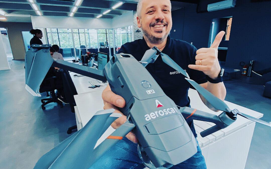 Startup de drones de segurança capta R$850 mil via EqSeed