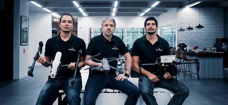 Startup de gerenciamento de drones capta R$ 850 mil em apenas 72 horas